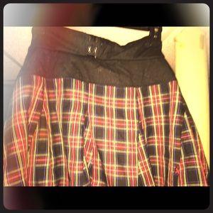 Royal bones school girl skirt